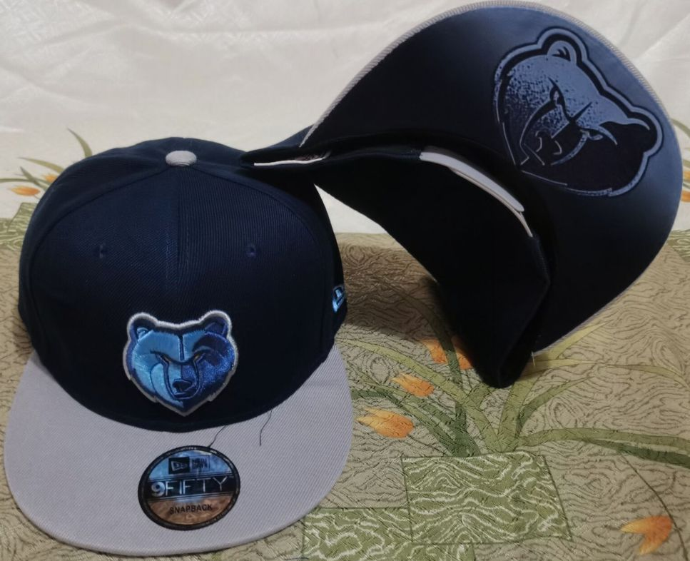 2021 NBA Memphis Grizzlies Hat GSMY610