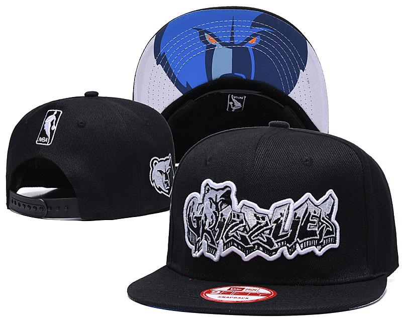 2021 NBA Memphis Grizzlies Hat GSMY4071