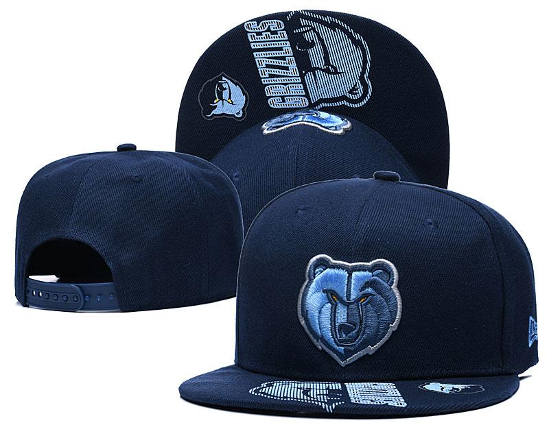 2021 NBA Memphis Grizzlies Hat GSMY407