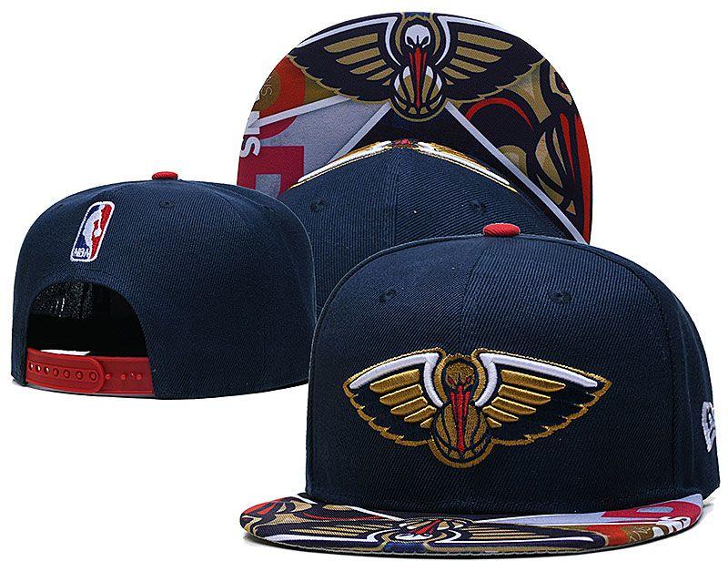 2021 NBA New Orleans Pelicans Hat TX427