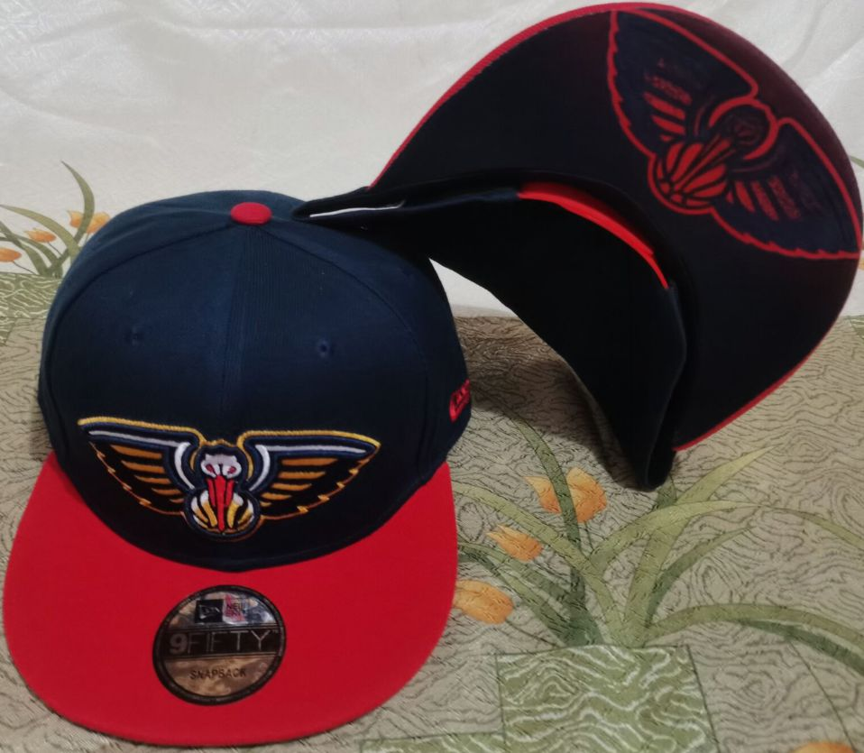 2021 NBA New Orleans Pelicans Hat GSMY610