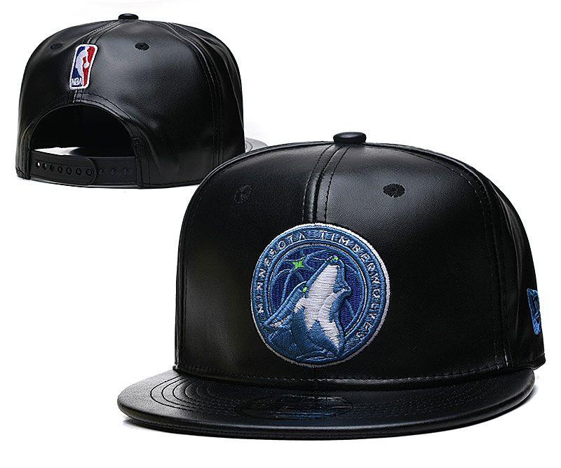 2021 NBA Minnesota Timberwolves Hat TX427