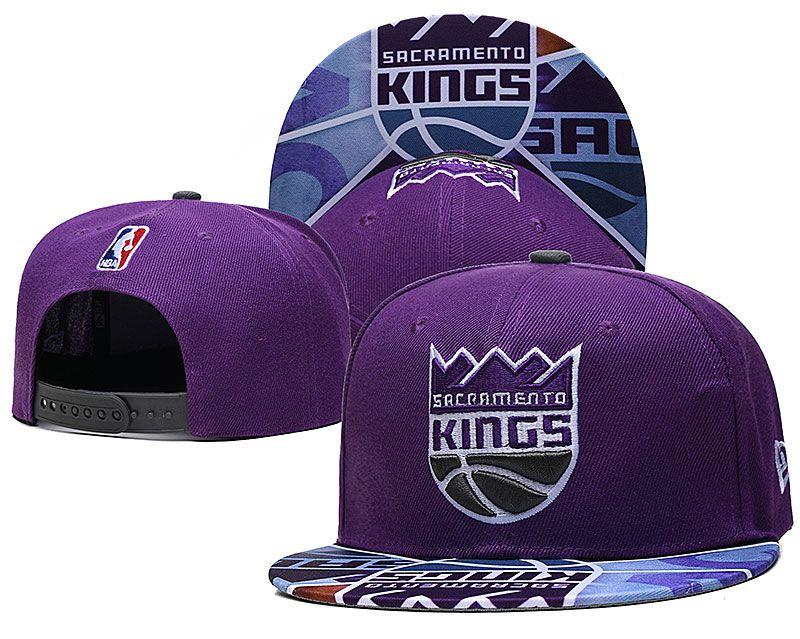 2021 NBA Sacramento Kings Hat TX427