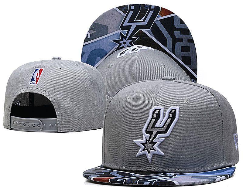 2021 NBA San Antonio Spurs Hat TX427