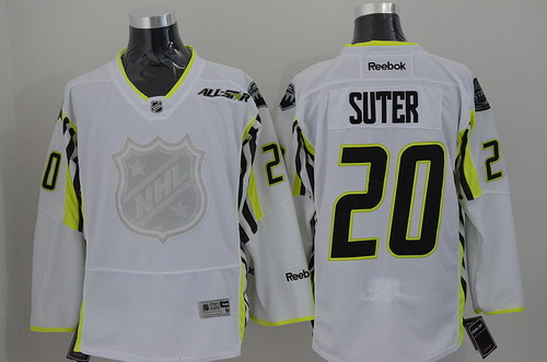 Minnesota Wild #20 Ryan Suter 2015 All-Stars White Jersey