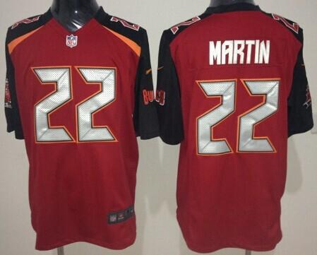 Nike Tampa Bay Buccaneers #22 Doug Martin 2014 Red Game Jersey