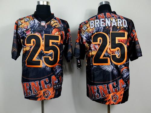 Nike Cincinnati Bengals #25 Giovani Bernard 2014 Fanatic Fashion Elite Jersey