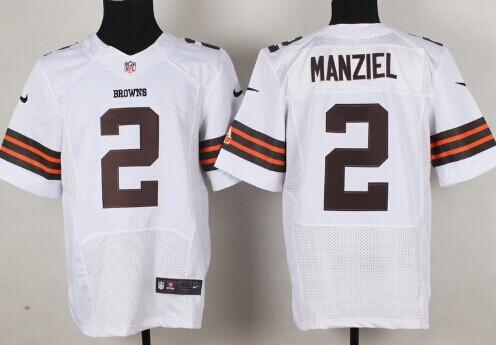f41b0248098 Nike Cleveland Browns #2 Johnny Manziel Orange Elite Jersey on sale ...