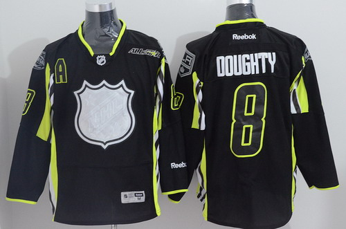 Los Angeles Kings #8 Drew Doughty 2015 All-Stars Black Jersey
