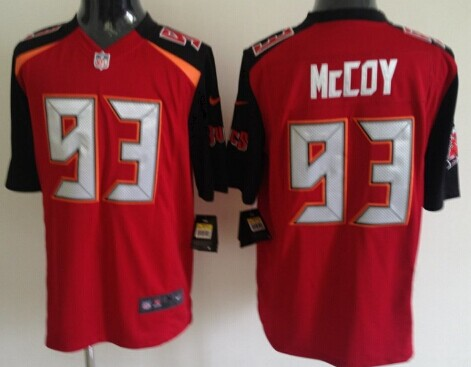 Nike Tampa Bay Buccaneers #93 Gerald McCoy 2014 Red Game Jersey