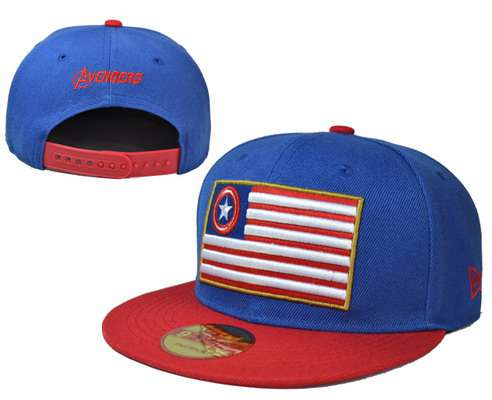 Marvel Super Hero Squad Captain America The First Avenger Adjustable Snapback LH06