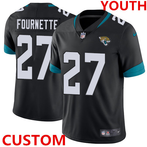 Nike Jacksonville Jaguars Black Alternate Youth Stitched NFL Vapor Untouchable Limited Jersey