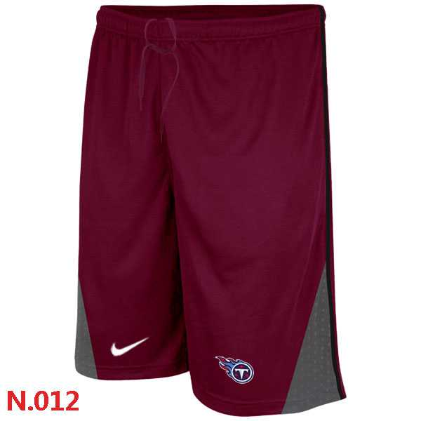Nike NFL Tennessee Titans Classic Shorts Red