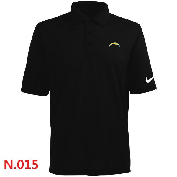 Nike San Diego Charger  Players Performance Polo -Black