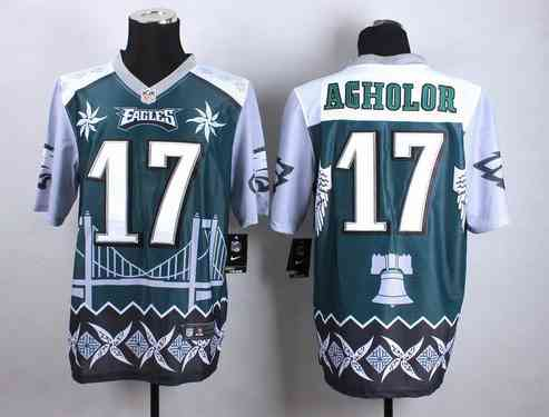 Philadelphia Eagles #17 Nelson Agholor 2015 Nike Noble Fashion Elite Jersey