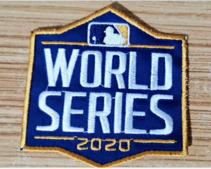 2020 MLB World Series Patch