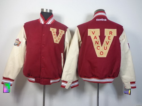 Vancouver Canucks Blank Red Jacket